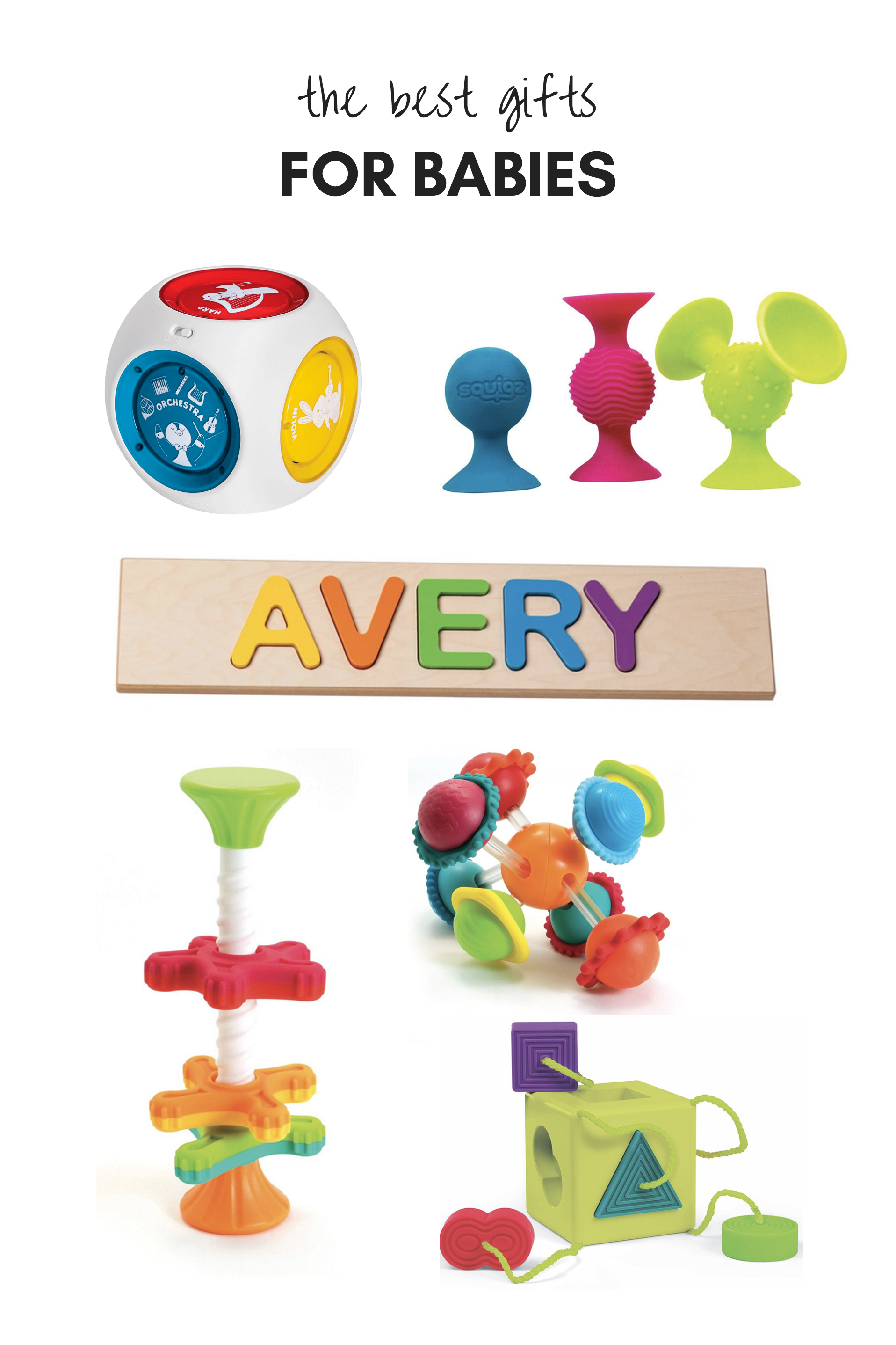 All Of Our Favorite Gifts And Toys For Babies And