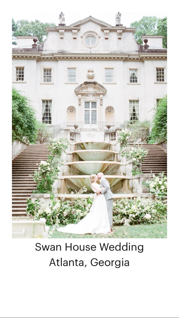 Swan House Wedding  Atlanta, Georgia