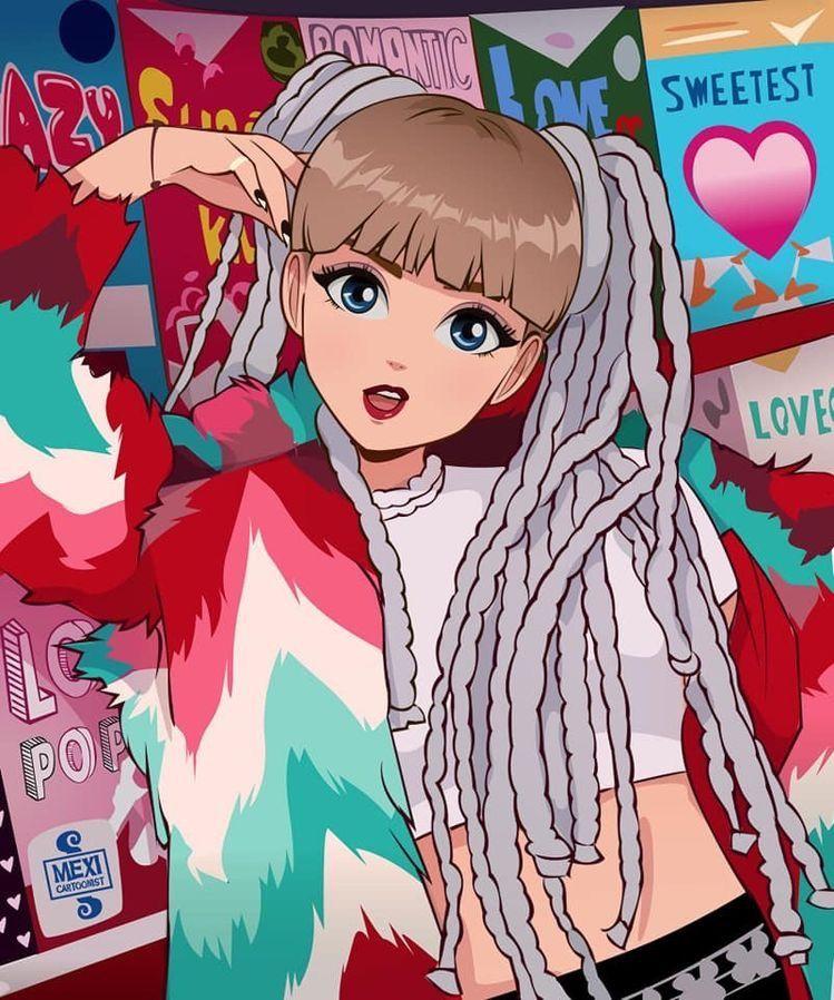 Idea by ᨳ♡̷̷៹ on ᗩᑎIᗰE Lisa blackpink wallpaper, Anime
