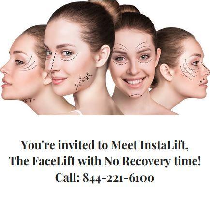 he Silhouette InstaLift - a non-invasive, facial