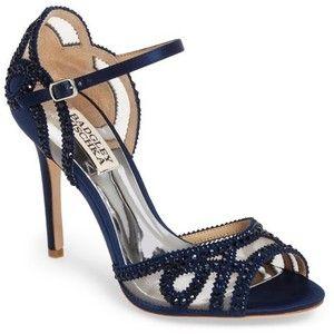 236f2b215 Women s Badgley Mischka Embellished Mesh Sandal