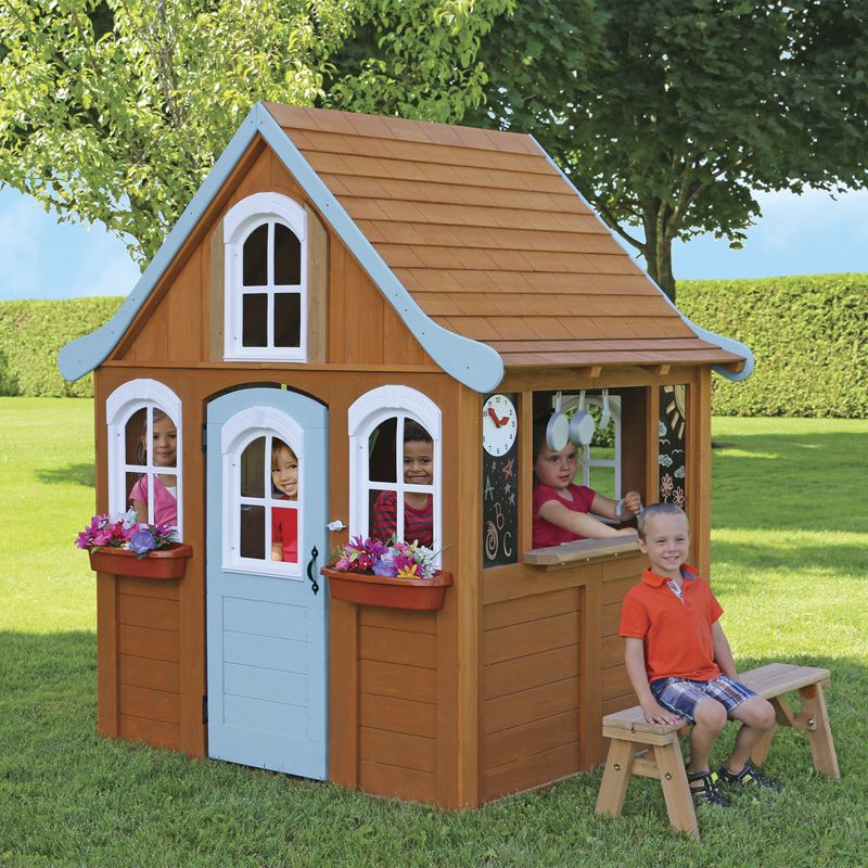 Costco UK Solowave Cedar Summit Storybrooke Playhouse (2