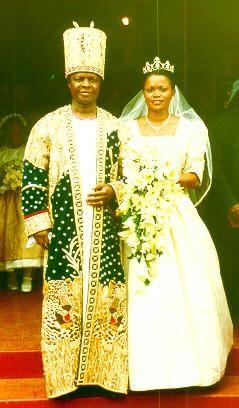 King Kabaka Mutebi II and Queen Silvia Nagginda of Buganda