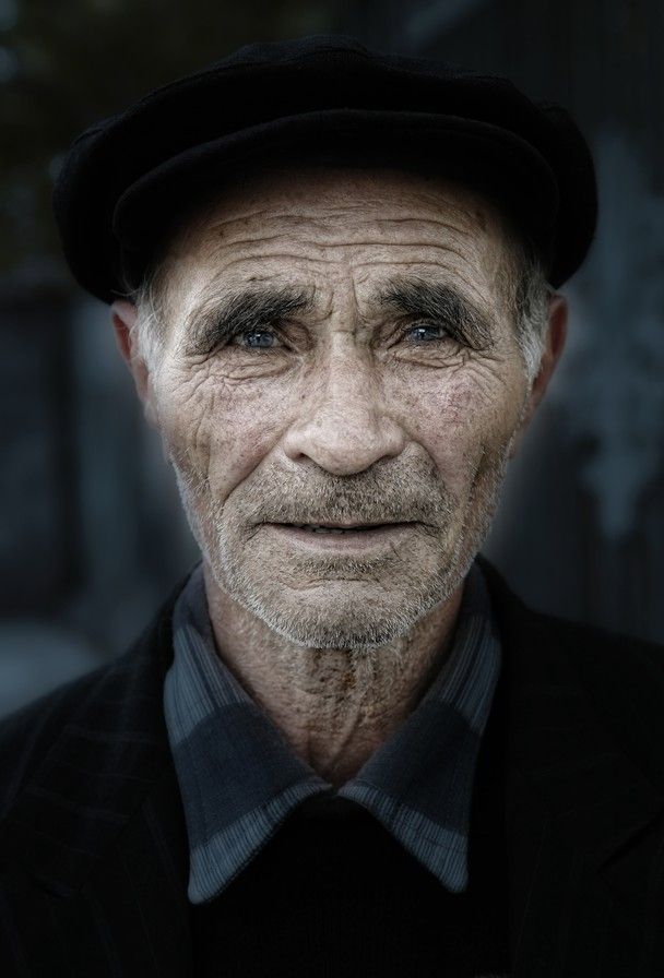 His eyes may be tired and old, but in them you can see still such life - Yerevan, Armenia.