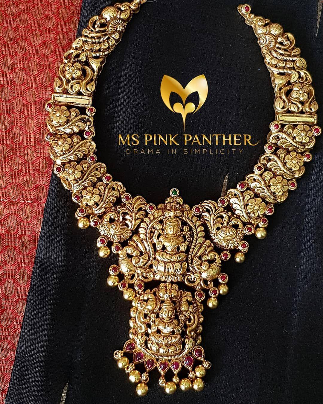 Necklacetemplenecklace jewellery pinterest indian jewelry