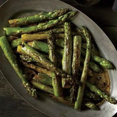 Roasted Asparagus with Balsamic Browned Butter Recipe | CookingLight.com