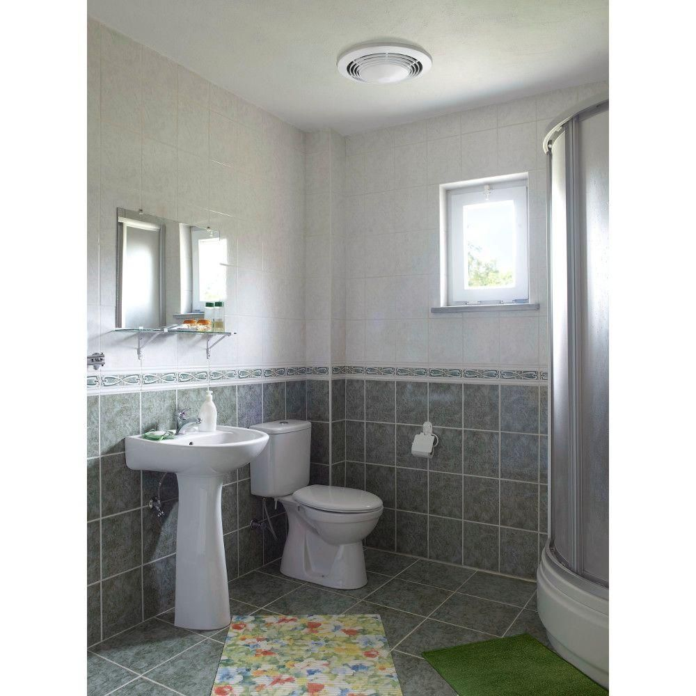 Nutone 100 Cfm Ceiling Bathroom Exhaust Fan With Light And