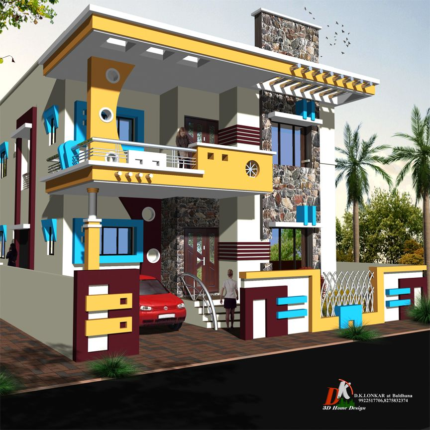 House Design, House Front
