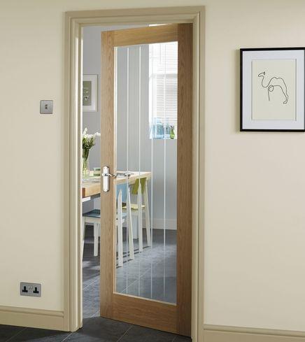 Genoa Oak Glazed Door Internal Glass Doors Internal Wooden Doors Oak Interior Doors