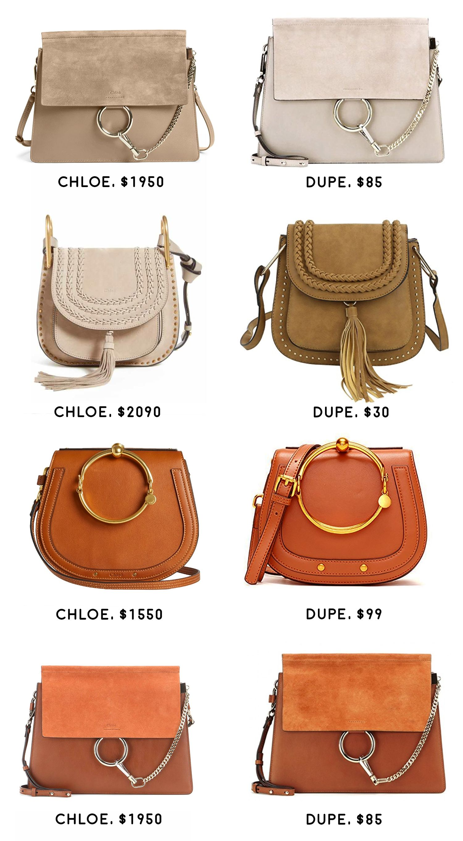 ebeca8e35b77 The Best Chloe Look Alike Bags (And Where to Find Them)