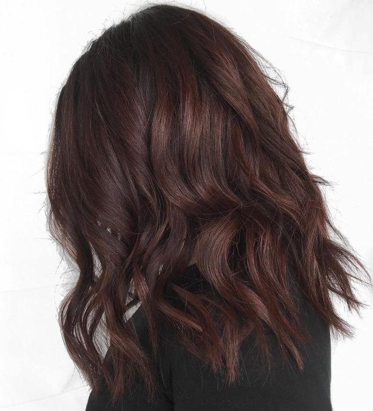 60 Idee per capelli color cioccolato marrone per brune – Stile cool