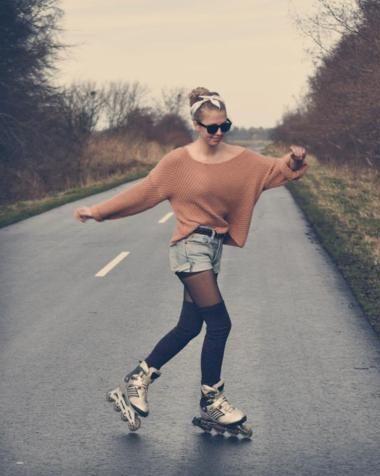 Maskerix Kostume Selber Machen Fur Jeden Anlass Rollschuhlaufen Inline Skaten Inliner Fahren