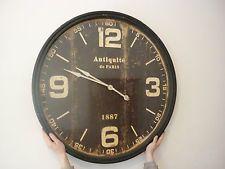 Paris Wall Clock Ebay Paris Wall Clock Clock Wall Clock