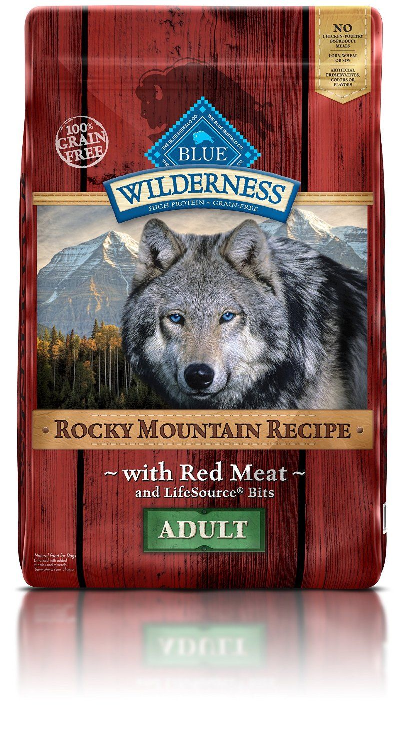Blue Buffalo Wilderness Rocky Mountain Recipe Dry Adult Dog Food *** Review more details here ...
