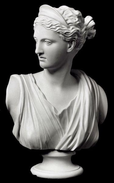 Diana Of Versailles Item 166 Bust Sculpture Sculpture Plaster Sculpture