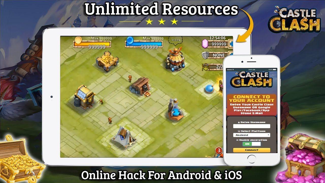 Pin by Supa Syfy on stuff | Castle clash, Hack online, Castle