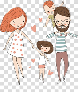 Happy Family Art Family Father Love Parents Transparent Background Png Clipart Family Art Clip Art Family Cartoon