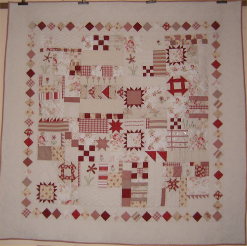 Quilt It Dorry.Quilts Dishcloth Red And White Love Quilts Sampler