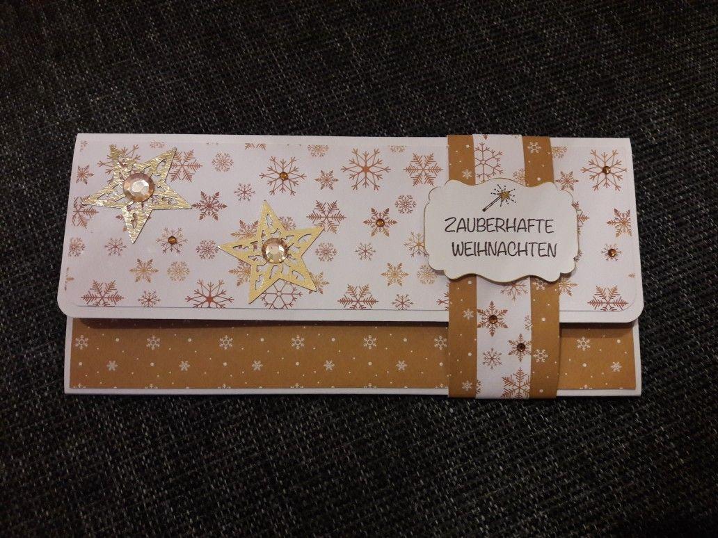 Verpackung für ein Konzert Ticket #konzertkartenverpacken