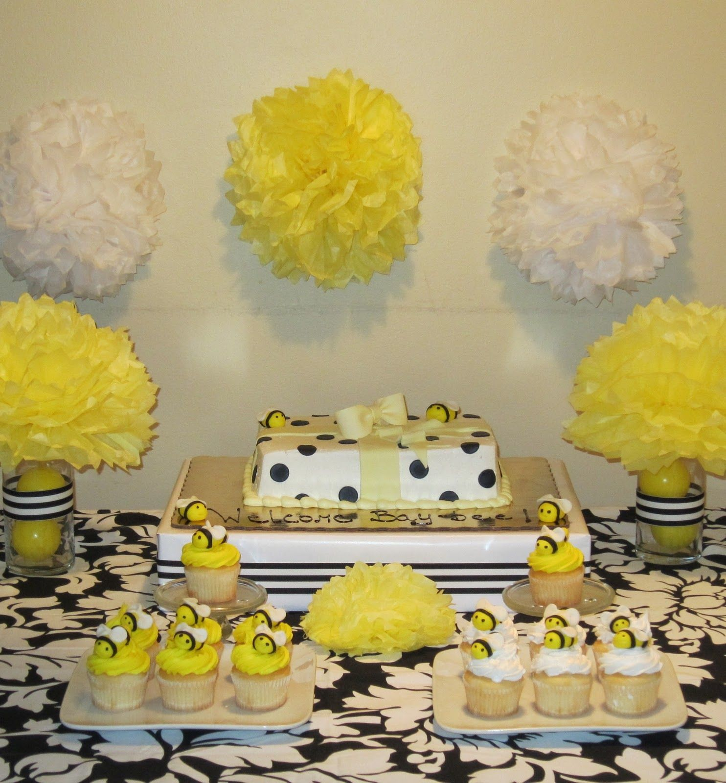 Great SimplyIced Party Details: Bumble Bee Baby Shower
