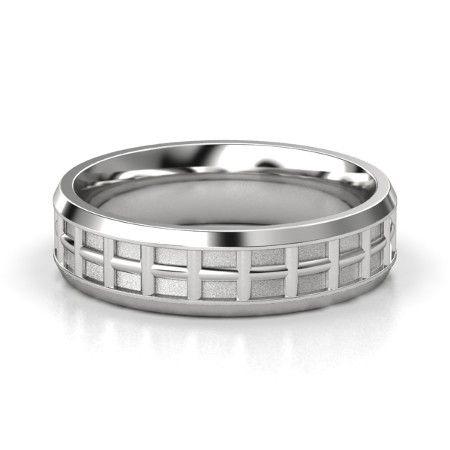 Men S Sterling Silver Ring Tuscan Band Gemvara