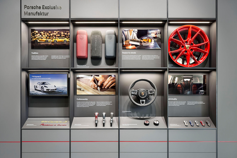#retaildesign #patterndesign #interiordesign #architecture #porsche #porschecenterlebanon #porschestudiobeirut #porschestudio #showroom #cardesign #display  picture by: ken schluchtmann
