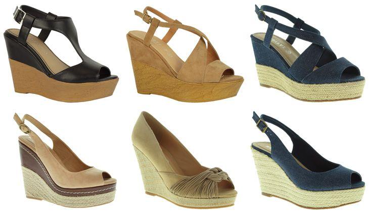 3b4a1a30 Primavera Verano · Alpargatas · Vuelven los 70 a la nueva colección de  zapatos de Marypaz http://www