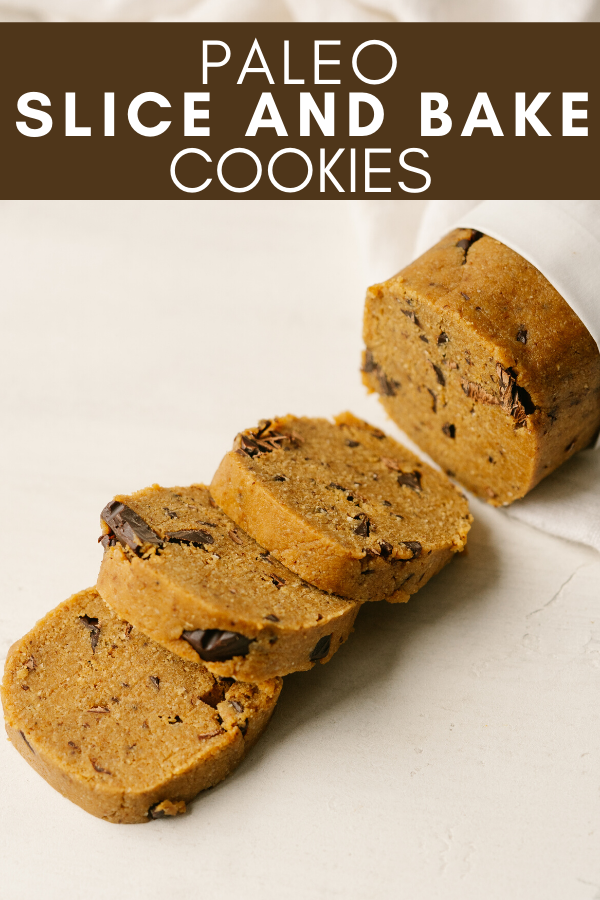 Paleo Slice and Bake Cookies - Mad About Food