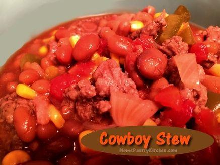 Cowboy Stew http://www.momspantrykitchen.com/cowboy-stew.html