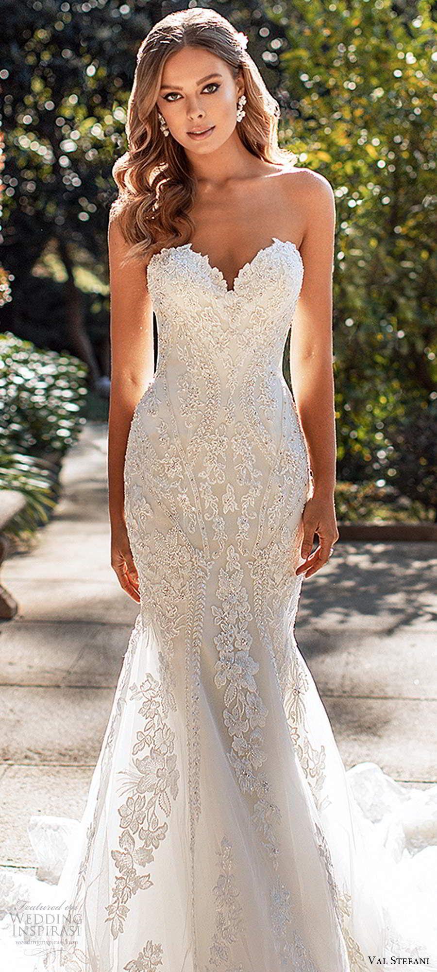 Val Stefani Fall 2020 Wedding Dresses Wedding Inspirasi Wedding Dresses Mermaid Sweetheart Mermaid Wedding Dress Sweetheart Wedding Dress [ 2000 x 900 Pixel ]