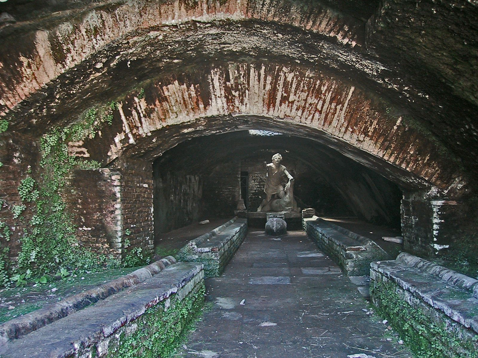 Toeletta Ostia ~ A mithraeum found in the ruins of ostia antica italy. mitras