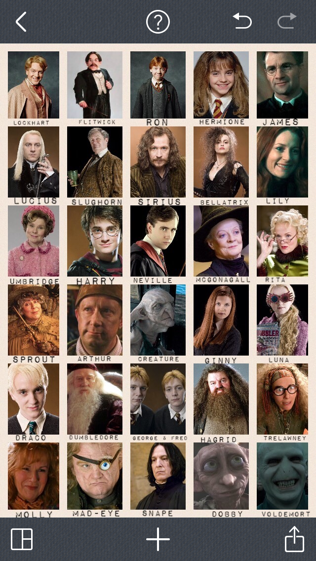Harry Potter Guess Who Print Out Harry Potter Party Games Harry Potter Games Harry Potter Birthday