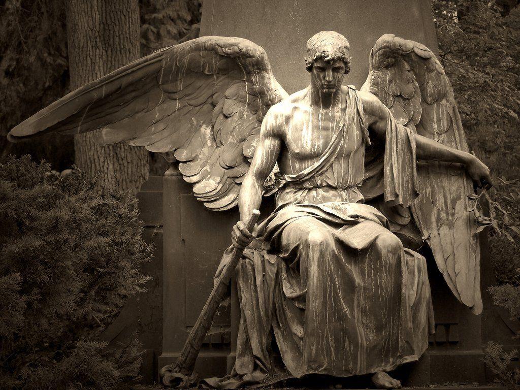 Открытка пусть ангел жизнь твою хранит время успешно