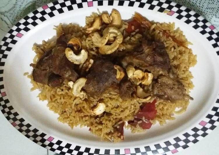 Resep Nasi Kabsah Kambing Oleh Snhanifa Resep Biryani Resep Makanan
