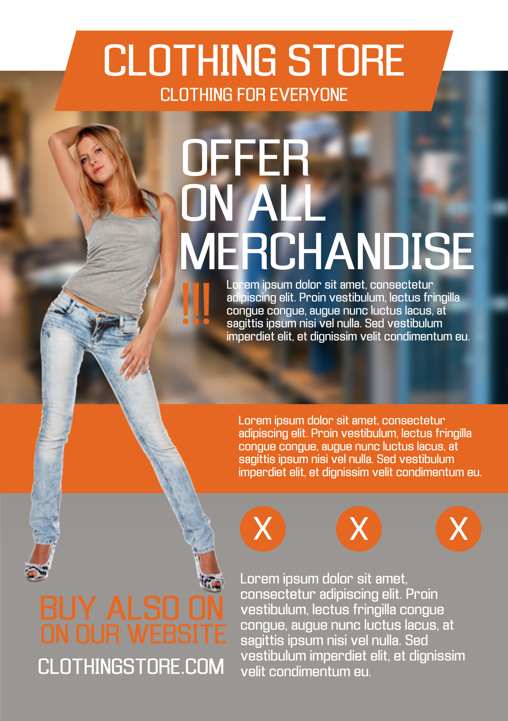 Fashion Retail A Promotional Flyer HttpPremadevideosComA