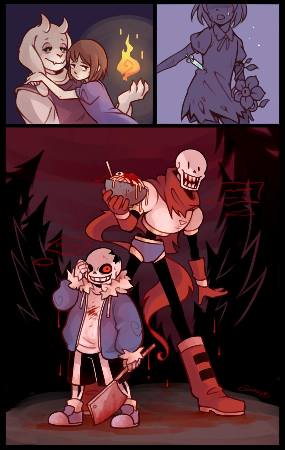 Horrortale Tumblr Horrortale Undertale Drawings Undertale