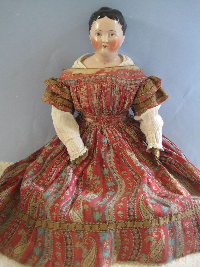 """Early Antique Porcelain Dolls 