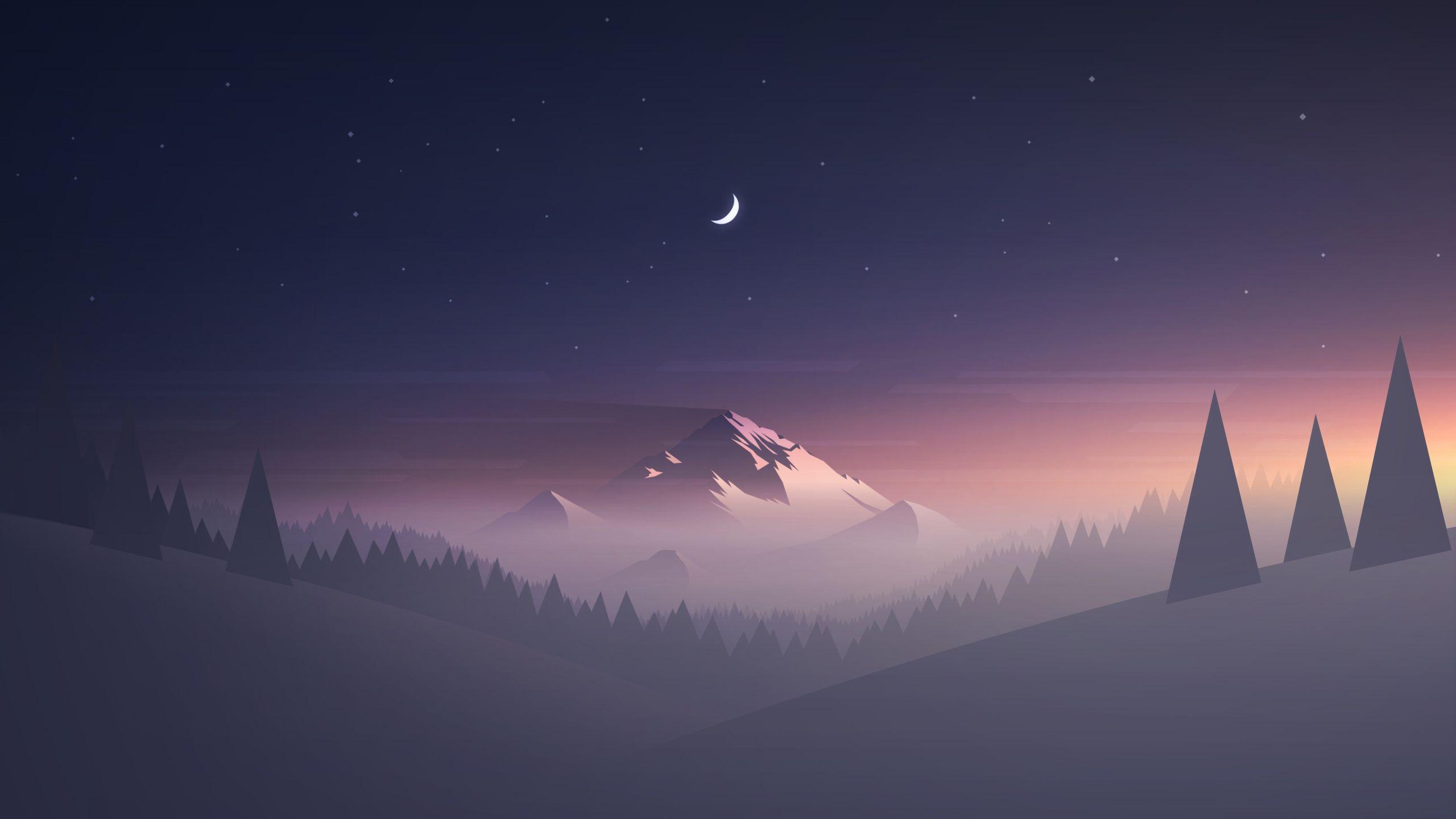 Mountain 2560x1440x Aesthetic Desktop Wallpaper Desktop Wallpaper Art Scenery Wallpaper