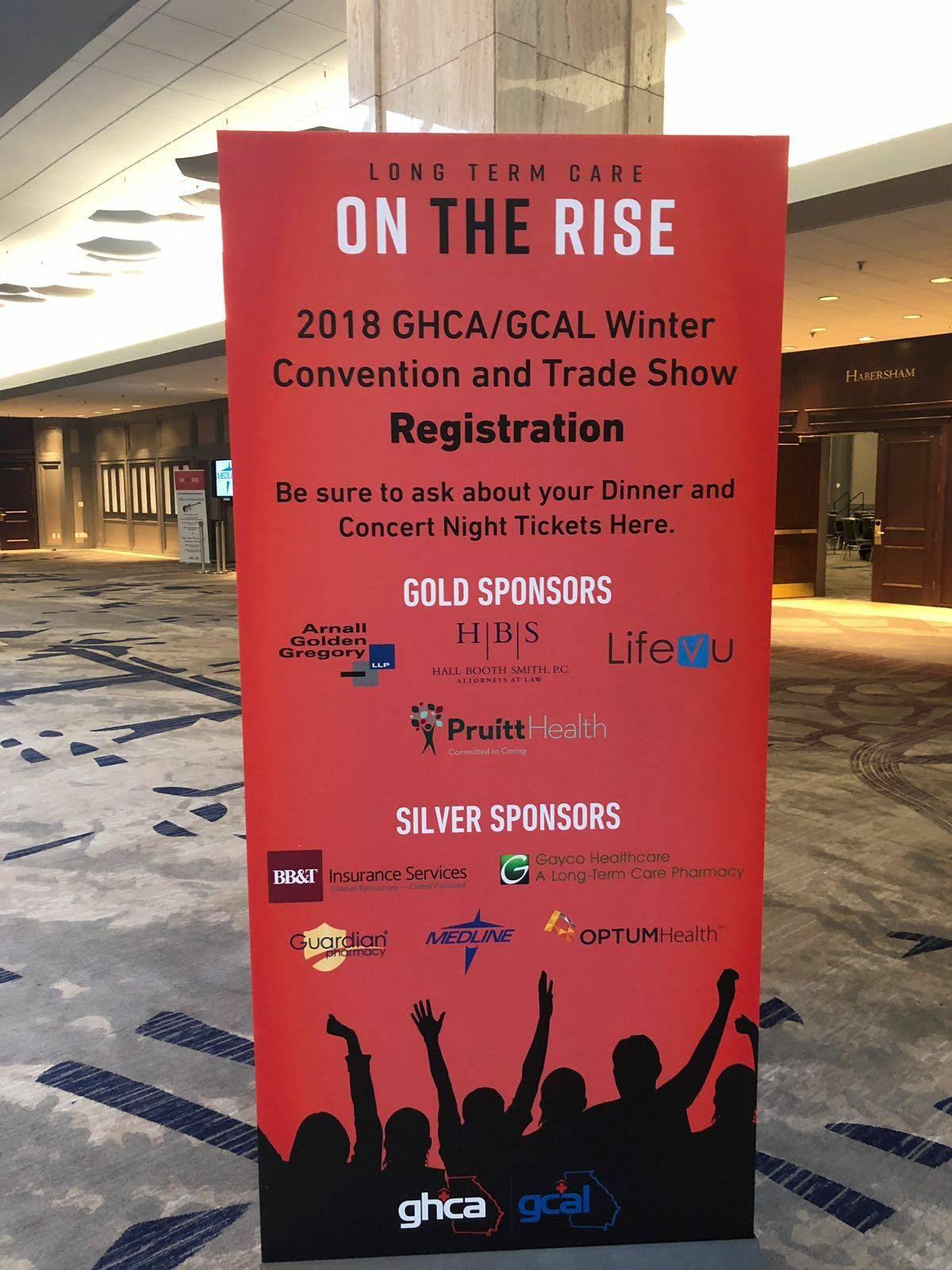 LifeVU at 2018 GHCA/GCAL Winter Convention & Trade Show