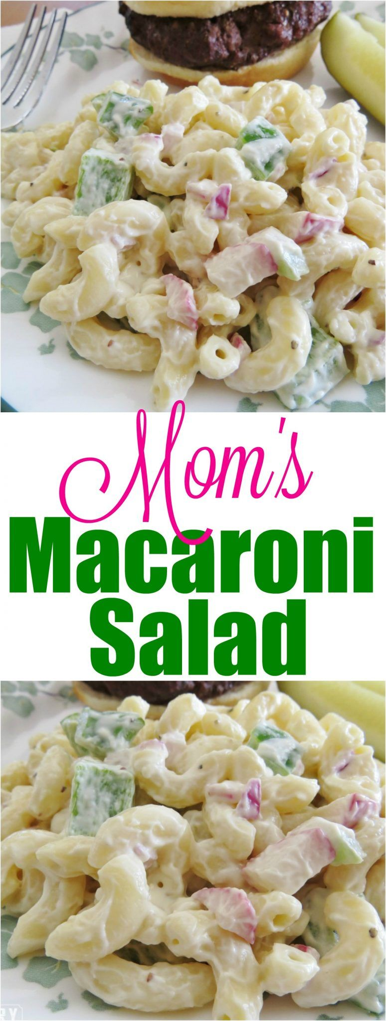 Mom's Macaroni Salad recipe from The Country Cook -   22 macaroni salad recipes ideas
