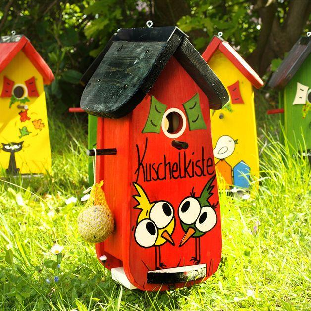 Photo of Original fugl kjærlighet! Gi bort unikhet! Med et fuglehus av …
