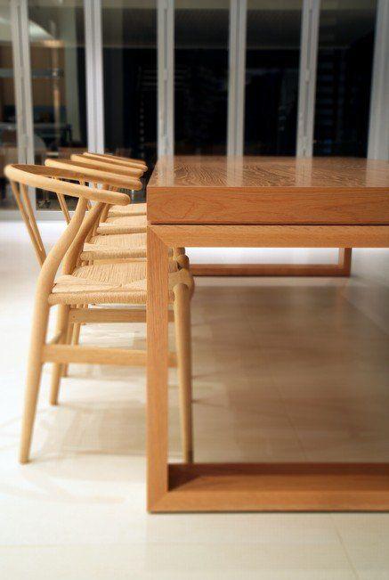 The April Dining Table In A Brisbane Home Interior Designer Phorm