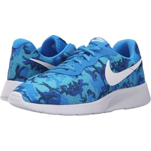 Nike Tanjun Print (Photo Blue/White/Game Royal/Gamma Blue/Midnight