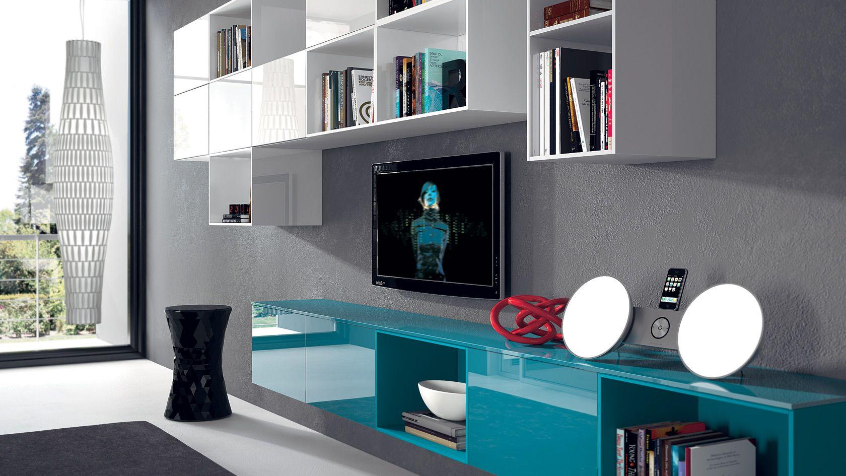 Mobili per soggiorno Tetrix | Sito ufficiale Scavolini | Home decor ...