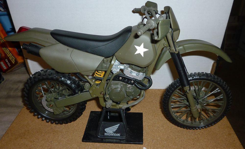 Honda Xr400r 1 6 Scale Diecast Offroad Dirtbike Army Motorcycle Army Motorcycle Motorcycle Diecast