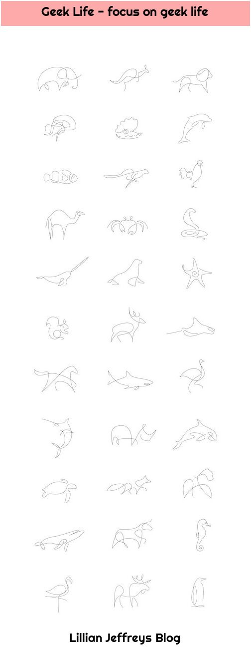 1. Geek Life – focus on geek life Geek Life – focus on geek life Tiny tattoo idea from coolTop – Minimalist animals by a French artist duo … #cooltop… Read more »  , focus, Geek, life