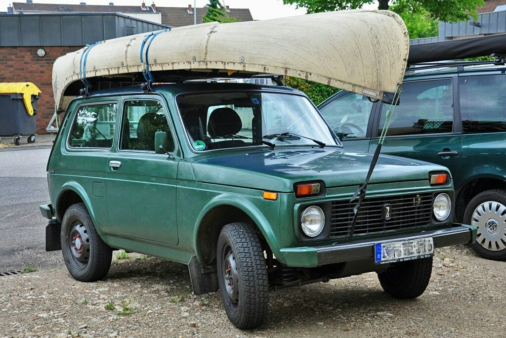 Niva Lada 4x4 Dachtrager Lada Niva