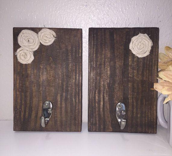 Colgador de palets pallets y cajones pinterest - Colgadores de pared de madera ...