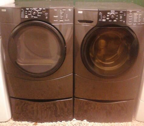 Kenmore Elite He3 Washer And Eletric Dryer Front Loading Set Reisterstown 700