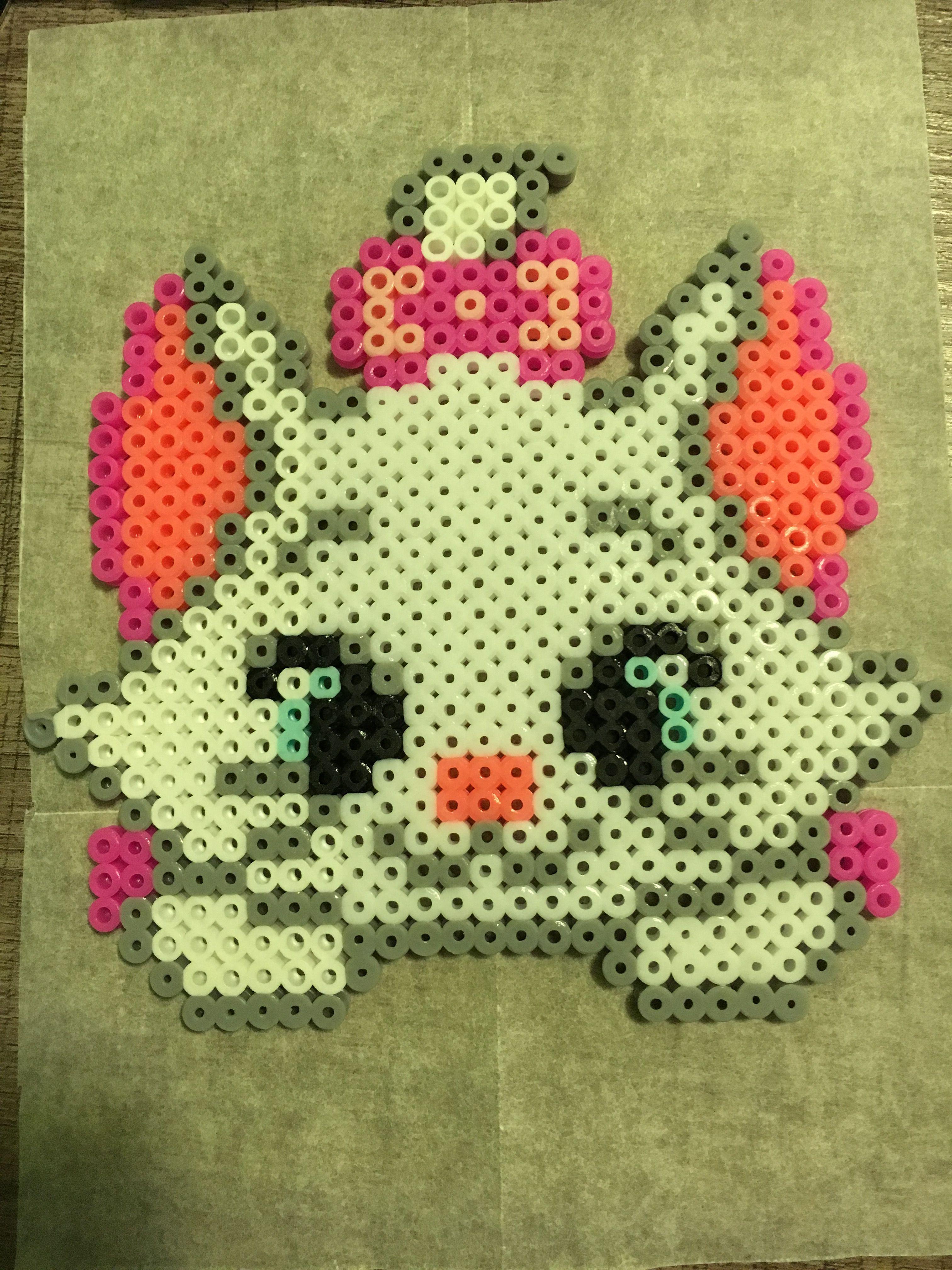 Aristogatos Marie Beads Pixel Perler Patterns Hama